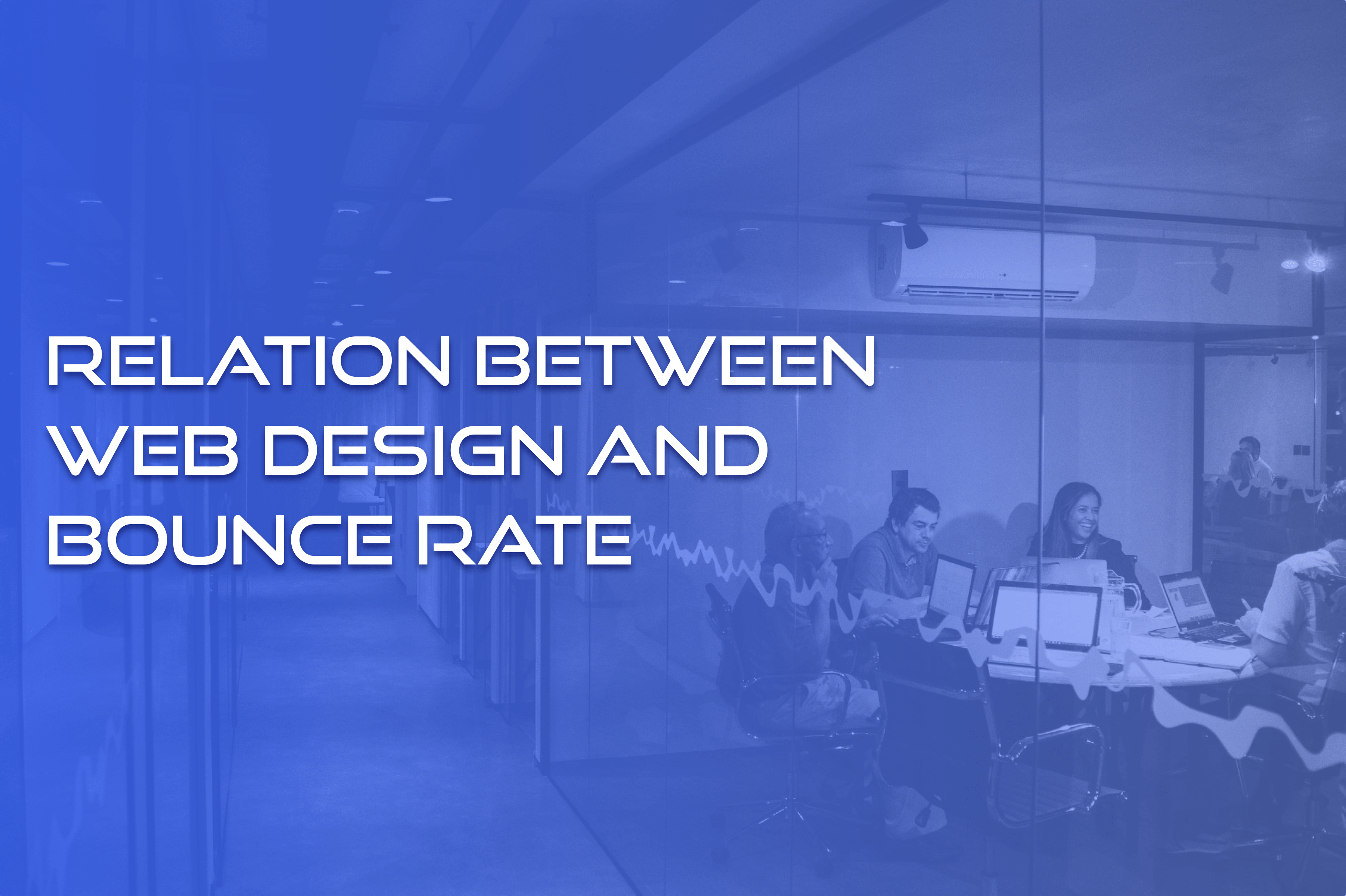 does bad web design affect bounce rate