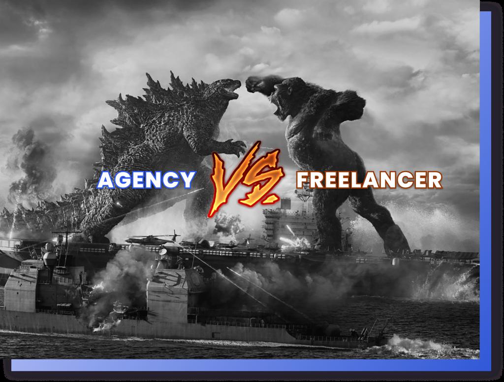 hiring a freelancer vs agency