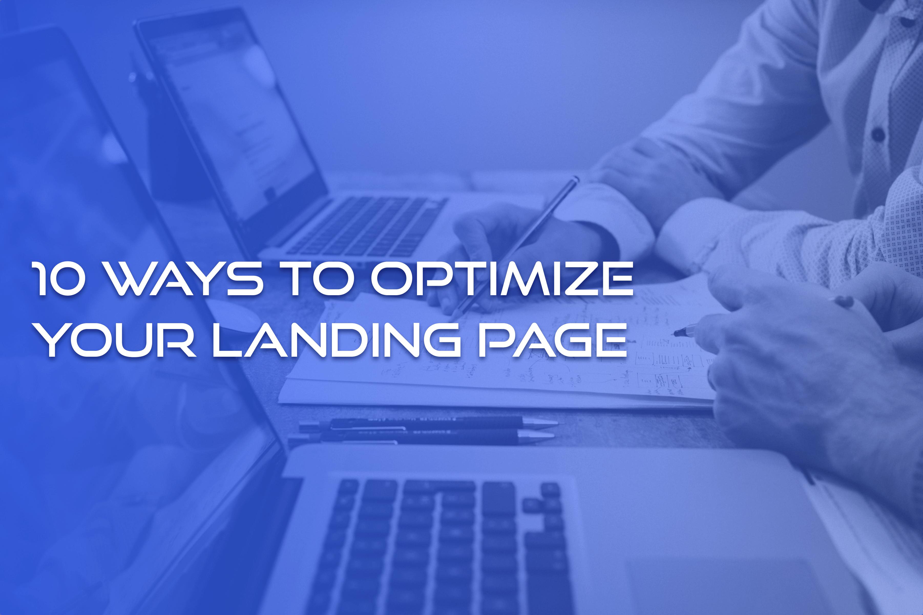 lead generation landing page best practices
